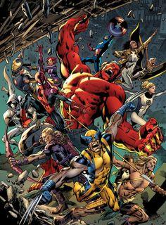 Comic Book Artwork