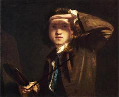 Self-Portrait - Joshua Reynolds 1749