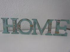 Home sweet home em madeira mdf