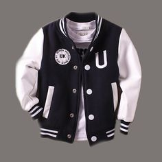 Baby Boy Clothes Boys Jacket 2017 Spring Letter Boys Outwear For Children Brand Kids Coats For Boys Baseball Sweater Shirt – Children Clothing Baby Outfits, Toddler Boy Outfits, Kids Outfits, Newborn Outfits, Boys Winter Jackets, Baby Boy Jackets, Pullover Shirt, Sweater Shirt, Kids Fashion Boy