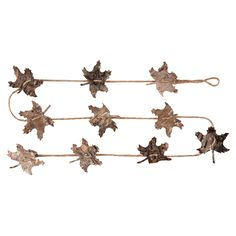 #GallerieII Oak Leaf Birch Garland