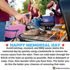We wish you a HAPPY MEMORIAL DAY! Here's a laundry tip for anybody attending any BBQ's or parties! Just something interesting to know in the back of your mind.  . . . . #Tidalpool #Tidalschool #MemorialDay #thankyou #military #USA #NeverForget #Veterans #MemorialDayWeekend #memorial #InHonorOf #BBQ #hotdog #burger #lifestyle #tip #interesting #lifehacks #home #laundry #laundryday #stain #life #useful #yourwelcome #DIY #howto #cleaning #doityourself