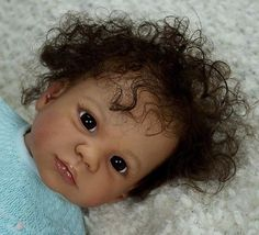 AA BIRACIAL/ETHNIC  REBORN BABY GIRL GABRIELLA BY REGINA SWIALKOSKI NOW DEMI