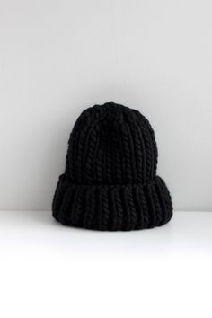 ROUHEA chunky beanie in black is a must-have piece for every stylish urban dweller. This beanie finishes off your wintry street-style outfit and will give you a unique look. Chunky Beanie is handmade of 100% soft Peruvian wool and every single purchase will amount to a happy dance by the maker designer in Helsinki, Finland :)  If youd like to see the beanie in other colors, please message me and well make arrangements for your custom order! Would be cool to know what colors youd love to wear