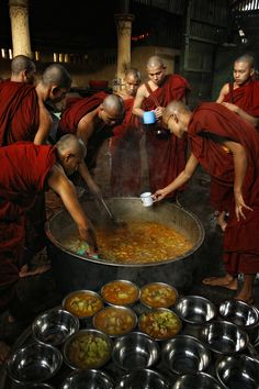 Lunchtime, Burma, By Alika