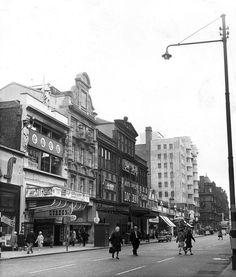 The famous Locarno Ballroom in Sauchiehall Street. I bet Mom ballroom danced here.