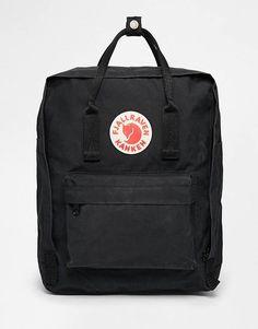 d62fee381643 Fjallraven Kanken Classic Black Backpack Sac À Dos Kanken