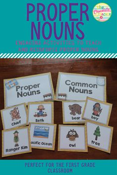 Are you looking for a fun, engaging unit to spice up your language arts program? This proper noun unit will do just that! It is perfect for a first or second grade classroom and provides a mini anchor chart, sorting activity, and plenty of worksheets to use as review.