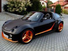 Smart Roadster Coupe, Smart Fortwo, Lamborghini Cars, Vw Cars, Smart Car, Mercedes Benz Amg, Car Tuning, Modified Cars, Car Colors