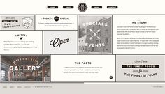 Beautiful Web Design // Mercer Tavern