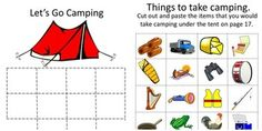 Summer is the time for relaxing. Camping, fishing, hiking and swimming are all fun ways to relax. Children can have fun reliving those moments with this Outdoor Fun Bundle. This Bundle consists of three products as follows; Camping Fun Cut and Paste Worksheet Set-19 pages Camping Fun File Folder Games-29 pages Let's Go Fishing Cut and Paste Worksheet Set-23 pages WOW! That is 70 pages of fun activities for your students and over a 20% savings for you.  17