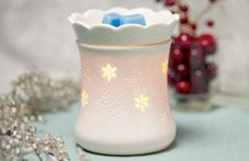 Scentsy - scented wax burners with beautiful designs. C's new fav product. Also have great on-the-go products for car, travel & drawer sachets that are inexpensive and would make great gift ideas!
