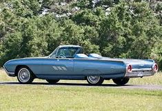Image result for 1963 ford thunderbird sports roadster