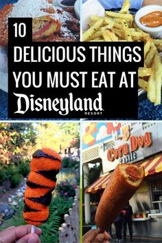16 Delicious Things to Eat at Disneyland