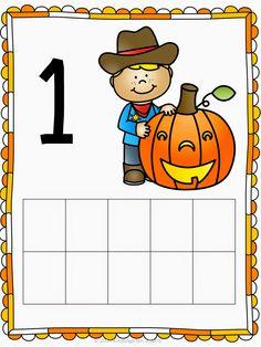 Halloween 10-Frame Math Center FREEBIE!