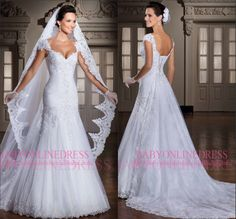 Find More Wedding Dresses Information about New Arrival Vestido De Festa longo Fashion Dress Mermaid White Sweetheart Long Wedding Dress Wedding Dresses 2014 Gown,High Quality dress patterns evening gowns,China dress ribbon Suppliers, Cheap dress up girls dresses from party  Queen Fashion Store on Aliexpress.com