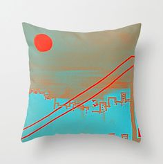 Throw Pillows, Bed, Etsy, Shopping, Toss Pillows, Cushions, Stream Bed, Decorative Pillows, Beds