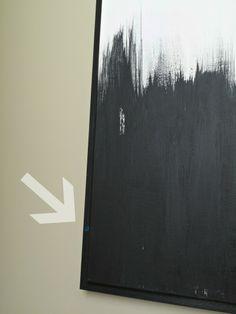 diy frame for canvases