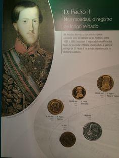 A face do novo Imperador nas moedas brasileiras - Museu de Valores BCB