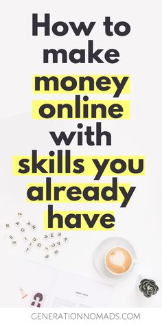 You already have everything you need to earn money from home. Your skills, knowledge, and experiences are valuable to others. Online Earning, Earn Money Online, Online Jobs, Need Money Now, Way To Make Money, Best Part Time Jobs, Quitting Your Job, Co Working, Financial Success