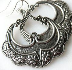 Classic silver Art Deco style