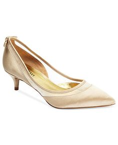 Nine West Shoes, Isla Mid Heel Evening Pumps - Evening & Bridal - Shoes - Macy's