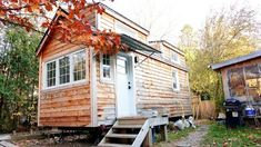 Woman Ditches Mortgage and Builds Tiny Home