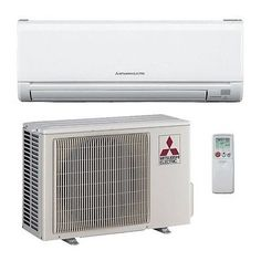 12,000 Btu 23.1 Seer Mitsubishi Single Zone Mini Split Air Conditioning System