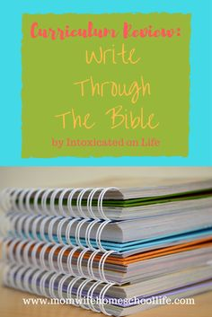 curriculum review: write through the bible