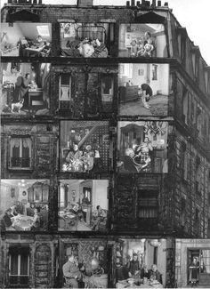 Robert DOISNEAU :: The Lodgers, 1962