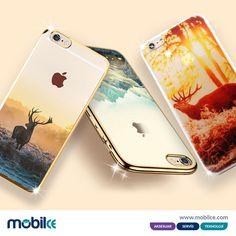 Iphone 6 ve 6 plus geyik tasarımlı kılıflar..