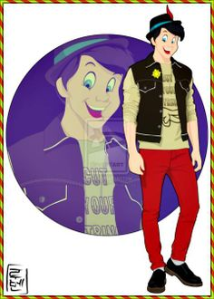 Modern Day Disney Characters | Disney Characters As Modern-Day College Students ...