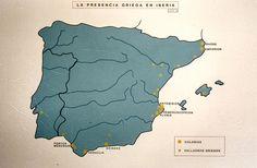 La presencia griega en la Penísnsula.