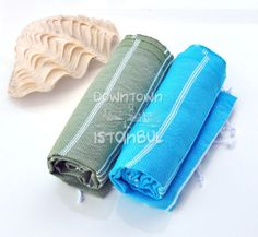 Pool Sea Towel Set of 2 Turkish Bath Towel by DowntownIstanbul, $29.99
