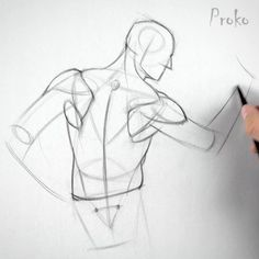> Still having problems drawing the shoulders? Learn to invent the shoulder muscles by watching the Drawing Lessons, Drawing Skills, Drawing Techniques, Drawing Tips, Drawing Sketches, Gesture Drawing Poses, Drawing Proportions, Contour Line Drawing, Figure Drawing Tutorial