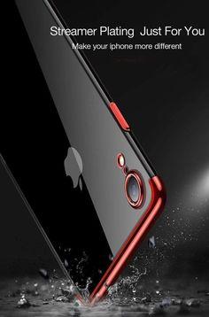 Gradient Half Transparent Plating Silicone Luxury Aurora iPhone Case Iphone 11 Pro Case, Iphone Cases, Supreme Phone Case, Airpod Case, Aurora, Plating, Mirror, Gucci, Luxury