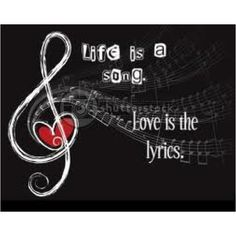 Music quote-would be a cool tattoo :)