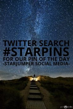 Twitter Search for #StarPins For Our Pin of the Day | Starjumper Social Media