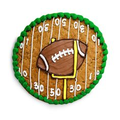 Football Custom Cookie Cake
