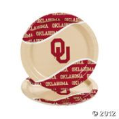 Oklahoma Sooners® Party Plates