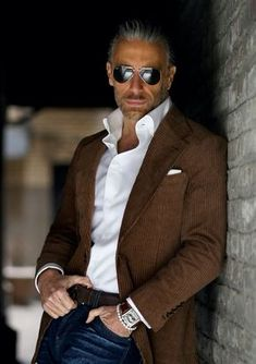 Old Man Fashion, Older Mens Fashion, Mens Fashion Suits, Fashion For Men Over 50, Blazer Outfits Men, Stylish Mens Outfits, Business Casual Men, Men Casual, Traje Casual