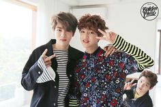 Jibeom, Jaehyun & Joochan