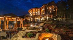 Looking to move to the beautiful Blue Ridge North Georgia Mountains? Please search our site for listings in Blue Ridge, Ellijay, Blairsville, Murphy in the North Georgia and North Carolina Mountains. Lakefront Property For Sale, Blue Ridge Georgia, Log Home Living, Cedar Log, Red Cedar, Georgia Homes, Log Cabin Homes, Log Cabins, My Dream Home