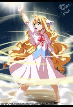 Mavis Vermillion - Fairy Glitter (Fairy Tail) by FlyingDragon04.deviantart.com on @DeviantArt