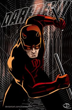 085 Daredevil - 1 2 TV Series Season Show Poster Marvel Dc, Marvel Comic Universe, Marvel Comics Art, Comics Universe, Daredevil Matt Murdock, Daredevil Elektra, Daredevil Man Without Fear, Avengers, Comic Book Superheroes
