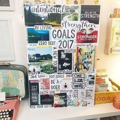 Starting A New Chapter With A Vision Board Are you living the life you want to live? Create a vision board to help you visualize, inspire yourself, and push you closer to your dreams every day.