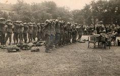 Duitsers werden gevangen genomen na de oorlog