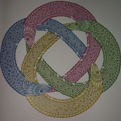 Johanna Basford | Picture by Liz | Colouring Gallery - 1,8M