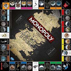 Winning Moves - 0970 - Monopoly Game Of Thrones - Version Française: Amazon.fr: Jeux et Jouets