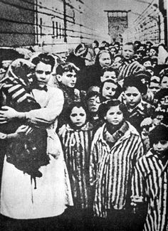 Auschwitz, Poland, 1945, Children After Their Liberation by the Red Army